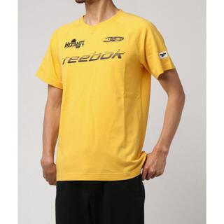 Reebok - Reebok リーボック Tシャツ 半袖 メンズ レディース  黄色 Vネック