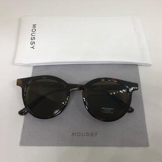 moussy - 【moussy 】 フラットレンズオーバルサングラス 未使用品
