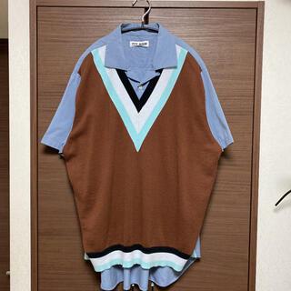 ALLEGE - TTT_MSW 21SS ニットドッキングシャツ