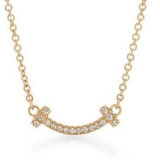 Tiffany & Co. - Tiffany ティファニースマイル (ミニ)ペンダントネックレス