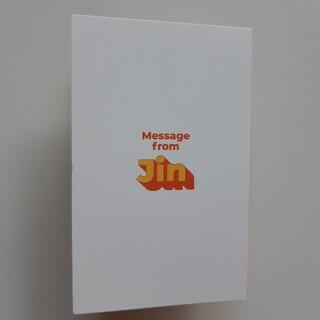 防弾少年団(BTS) - BTS Butter  メッセージカード JIN / ジン 防弾少年団