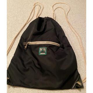 プラダ(PRADA)のPRADA 鞄 ミニ リュック 黒(バッグパック/リュック)