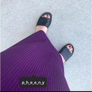 ビューティアンドユースユナイテッドアローズ(BEAUTY&YOUTH UNITED ARROWS)のPHEENY ☺︎ TODAYFUL ☺︎ 6 ROKU(ロングスカート)