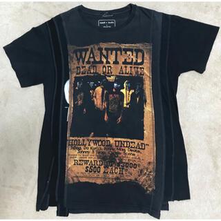 ニードルス(Needles)のSALE リビルドバイニードルス Hollywood undead 再構築t (Tシャツ/カットソー(半袖/袖なし))