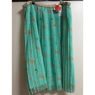 franche lippee - フランシュリッペ FL5   ネコたくさんプリーツスカート
