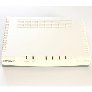 バッファロー(Buffalo)のバッファロー 有線BroadBandルータ BLR3-TX4L(PC周辺機器)