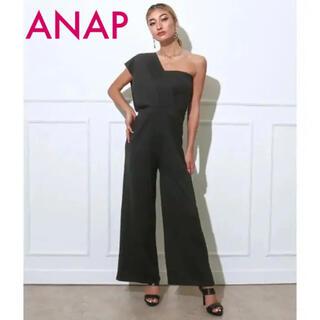 アナップ(ANAP)のANAP アナップ デザインワンショルダー オールインワン 売り切れ商品!(オールインワン)