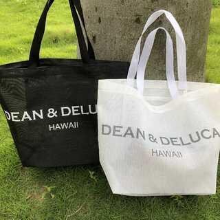 DEAN&DELUCA☆メッシュトートバッグ ハンドバッグ メッシュ