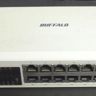 バッファロー(Buffalo)のBUFFALO LSWTX-16NP 16ポート  スイッチングハブ(PC周辺機器)