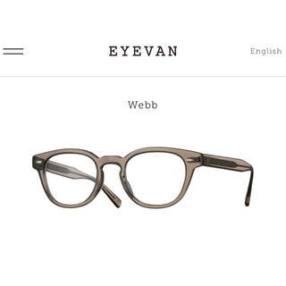 新品 アイヴァン EYEVAN Webb  SMK メガネフレーム 47サイズ