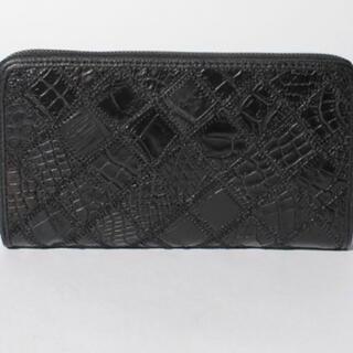 クロコダイル(Crocodile)のクロコダイルパッチワーク長財布(長財布)