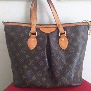 LOUIS VUITTON - 良品・LOUIS VUITTON ルイヴィトン パレルモPM トートバッグ