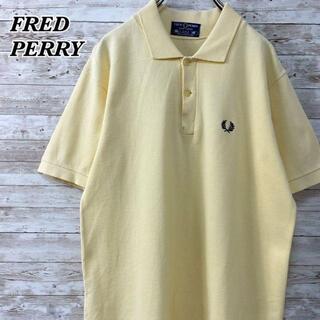フレッドペリー(FRED PERRY)の《イングランド製》フレッドペリー 80sヴィンテージ 刺繍ロゴ ポロシャツ 半袖(ポロシャツ)