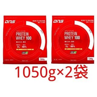 ディーエヌエス(DNS)のDNS プロテイン 1050g×2袋(計60食分)バナナオレ風味 ホエイ100(プロテイン)