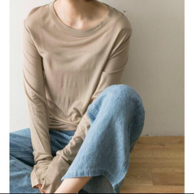 EDIT.FOR LULU(エディットフォールル)のbaserange Bamboo T レディースのトップス(Tシャツ(長袖/七分))の商品写真