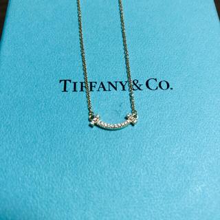 Tiffany & Co. - 日本正規品!ティファニー Tスマイルネックレス