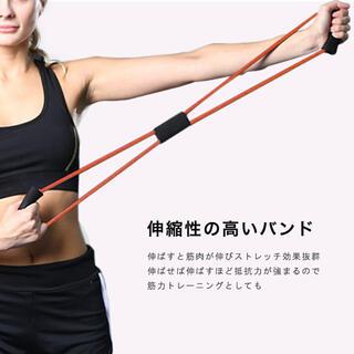 【新品】ゴムチューブバンド ブラック(エクササイズ用品)