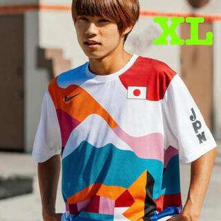 ナイキ(NIKE)のXL NIKE SB PARRA CREW JERSEY JAPAN 選手着用(Tシャツ/カットソー(半袖/袖なし))