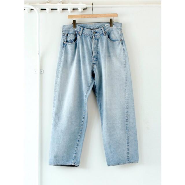 COMOLI(コモリ)のCOMOLI 21AW デニム5Pパンツ ブリーチ サイズ1 新品未使用 メンズのパンツ(デニム/ジーンズ)の商品写真