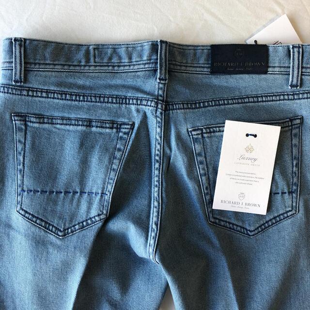 JACOB COHEN(ヤコブコーエン)の3452 サイズ31 リチャードジェイブラウン ジーンズ デニム ヤコブコーエン メンズのパンツ(デニム/ジーンズ)の商品写真