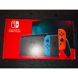Nintendo Switch - 極美品 ニンテンドースイッチ 本体 ネオンブルーレッド Switch本体