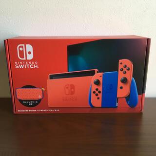 任天堂 - [新品未開封]Nintendo Switch マリオ レッド×ブルー セット