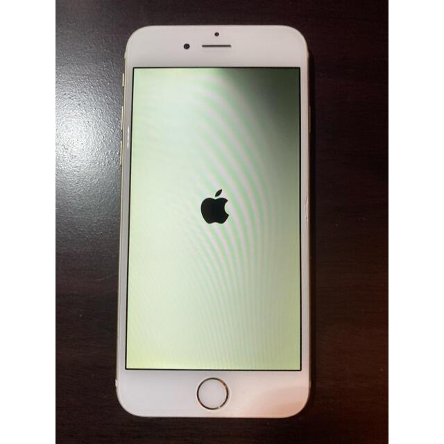 Apple(アップル)のiPhone6 64GB gold ジャンク スマホ/家電/カメラのスマートフォン/携帯電話(スマートフォン本体)の商品写真