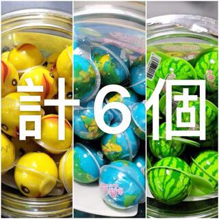 DaDa4個セット アヒルグミ 地球グミ スイカグミ お菓子 ASMR(菓子/デザート)