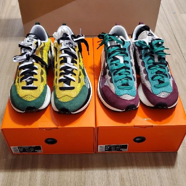 NIKE(ナイキ)のNIKE×sacai ヴェイパーワッフル 2足セット メンズの靴/シューズ(スニーカー)の商品写真
