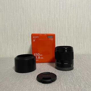 SONY - SONY ソニー SEL50F18 E 50mm F1.8 OSS