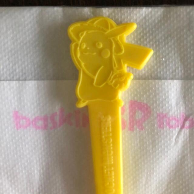 ポケモン(ポケモン)の31アイス   新品未開封 ポケモン ピカチュウ プラスチックスプーン50本 エンタメ/ホビーのおもちゃ/ぬいぐるみ(キャラクターグッズ)の商品写真