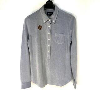 パーリーゲイツ(PEARLY GATES)のパーリーゲイツ 長袖ポロシャツ サイズO(ポロシャツ)