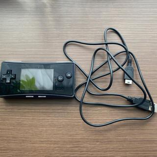 任天堂 - ゲームボーイミクロ 本体 充電器