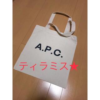 A.P.C - APC アーペーセー トートバッグ ホワイト レディース