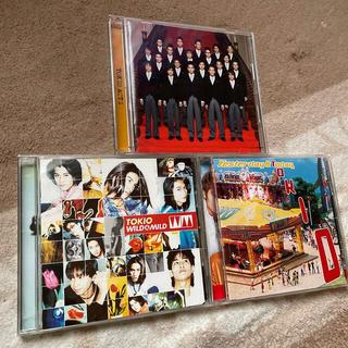 ユニバーサルエンターテインメント(UNIVERSAL ENTERTAINMENT)のTOKIO  CD3枚 セット(ポップス/ロック(邦楽))