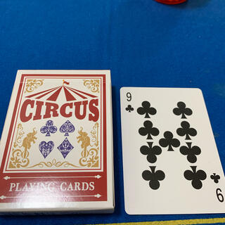 サーカス(circus)のCIRCUS One Way Deck ♣️9(ワンウェイデック)53枚(トランプ/UNO)