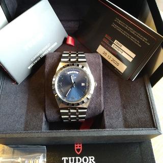 チュードル(Tudor)のTUDOR ROYAL blueロイヤル デイト・デイ (腕時計(アナログ))