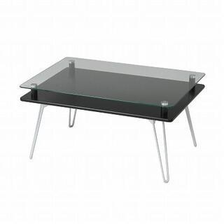 新品 本土送料無料 ディスプレイテーブル クラリス ブラック(ローテーブル)