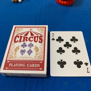 サーカス(circus)のCIRCUS One Way Deck ♣️7(ワンウェイデック)53枚(トランプ/UNO)
