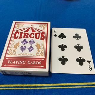 サーカス(circus)のCIRCUS One Way Deck ♣️6(ワンウェイデック)53枚(トランプ/UNO)