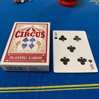 サーカス(circus)のCIRCUS One Way Deck ♣️5(ワンウェイデック)53枚(トランプ/UNO)