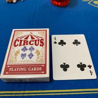 サーカス(circus)のCIRCUS One Way Deck ♣️4(ワンウェイデック)53枚(トランプ/UNO)