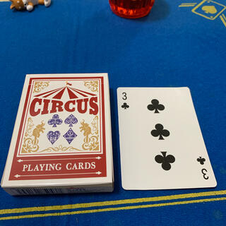 サーカス(circus)のCIRCUS One Way Deck ♣️3(ワンウェイデック)53枚(トランプ/UNO)