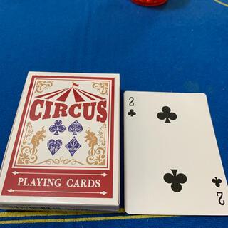 サーカス(circus)のCIRCUS One Way Deck ♣️2(ワンウェイデック)53枚(トランプ/UNO)