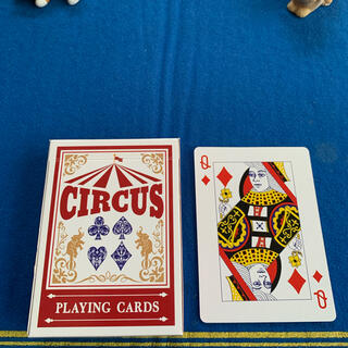 サーカス(circus)のCIRCUS One Way Deck ♦️Q(ワンウェイデック)53枚(トランプ/UNO)