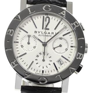 ブルガリ(BVLGARI)の☆良品 ブルガリ ブルガリブルガリ BB38SLCH メンズ 【中古】(腕時計(アナログ))