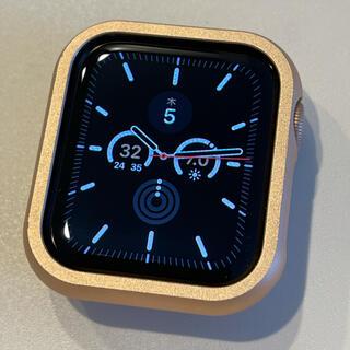 Apple - Apple Watch SE 40mm 着用一度のみ 長期保証 ピンクゴールド