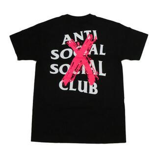 アンチ(ANTI)のantisocialsocialclub caselled black tee(Tシャツ/カットソー(半袖/袖なし))