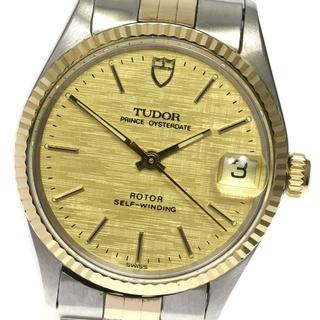 チュードル(Tudor)の☆良品 チュードル プリンス オイスターデイト 74300 メンズ 【中古】(腕時計(アナログ))
