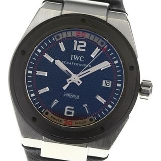 インターナショナルウォッチカンパニー(IWC)のIWC インヂュニア デイト IW323401 自動巻き メンズ 【中古】(腕時計(アナログ))